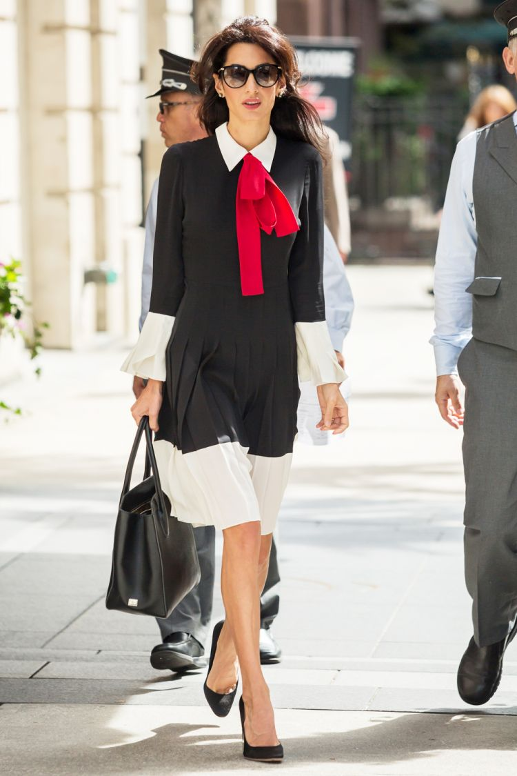 Amal Clooney Style File